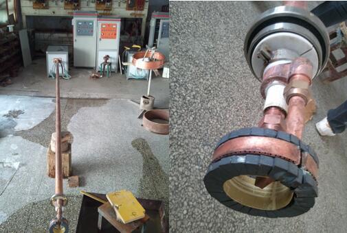 管道内壁高频感应淬火热处理机器