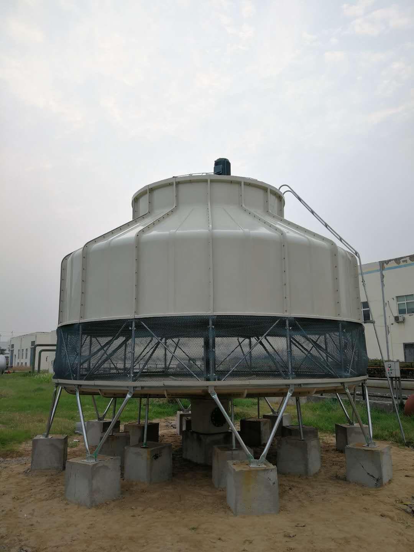 10吨熔炼炉循环水冷却塔解决方案